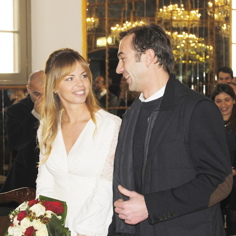 federica micoli matrimonio
