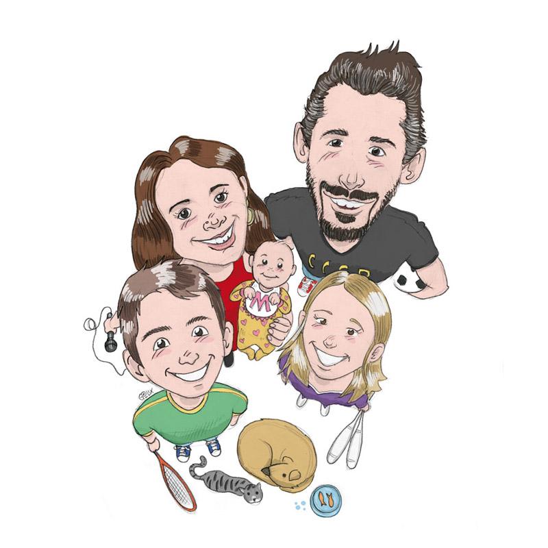 Ritratto-Famiglia